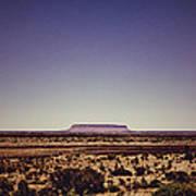 Desert Monolith Art Print
