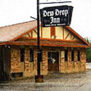 Dew Drop Inn Art Print