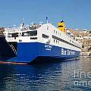 Diagoras Ferry Symi Art Print