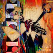 Dizzy Gillespie Collection Art Print