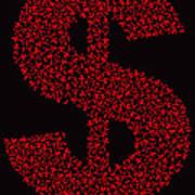 Dollar People Icon Art Print