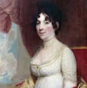Dolley Payne Todd Madison (1768-1849) Art Print