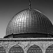 Dome Of The Rock Print by Amr Miqdadi
