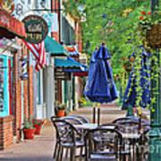 Downtown Worthington Art Print
