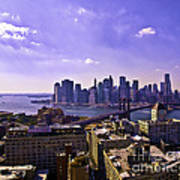 Dumbo View Of Lower Manhattan Art Print