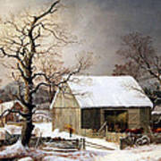 Durrie's Winter In The Country Art Print