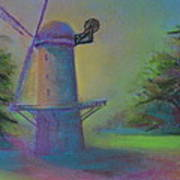 Dutch Windmill 02 Art Print
