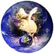 Earth Chick Art Print