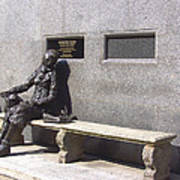 Eleanor Rigby Statue Liverpool Uk Art Print