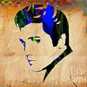 Elvis Presly Wall Art Art Print