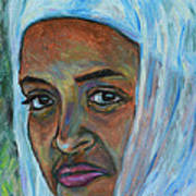 Ethiopian Lady Art Print