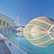 Europe, Spain, Valencia, City Of Arts Art Print