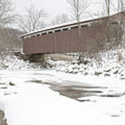 Everett Covered Bridge  Art Print
