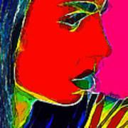 Facets Of Beauty Art Print