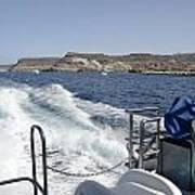 Ferry Hasta Puerto De Mogan Art Print