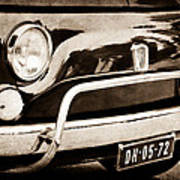 Fiat 500 L Front End Art Print