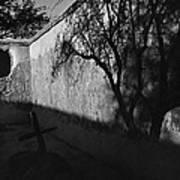 Film Noir Kim Novak Vertigo 1958 Graveyard Tumacacori Mission Tumacacori Arizona 1979-2008 Art Print