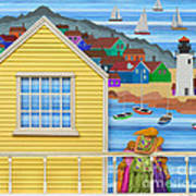 Finally Home Art Print by Anne Klar