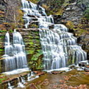 Finger Lakes Waterfall Art Print