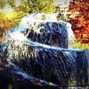 Finlay Park Fountain 3 Art Print