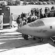 First Supersonic Aircraft, Bell X-1 Art Print