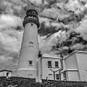 Flamborough Head Lighthouse Art Print
