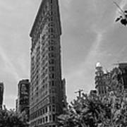 Flatiron Building Manhattan  Art Print