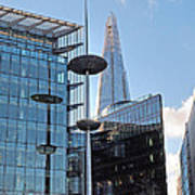 Focus On The Shard London Art Print