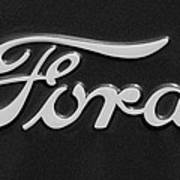 Ford Emblem Art Print