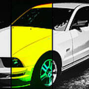 Ford Mustang Gt Art Print