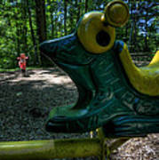 Forgotten Playground Art Print