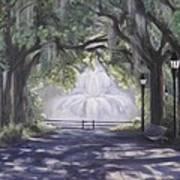 Forsythe Park Art Print