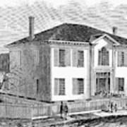 Freedmen School, 1867 Art Print