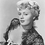 Frenchie, Shelley Winters, 1950 Art Print