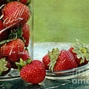 Fresh Berries Art Print by Darren Fisher