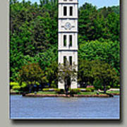 Furman Tower Art Print