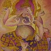 Ganesha God Of Hindu Art Print