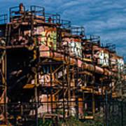 Gas Works Park Seattle Art Print