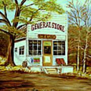 General Store 1902 Art Print