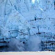 Glacier Collapse Art Print