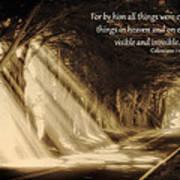 Glory Rays Art Print