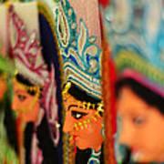 Goddess Durga Art Print by Atin Saha
