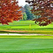 Golf Course Beauty Art Print