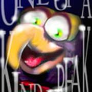Gonzo - One-of-a-kind-freak Art Print