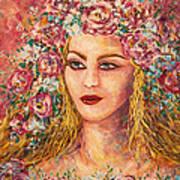 Good Fortune Goddess Art Print