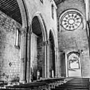 Gothic Monastery Art Print