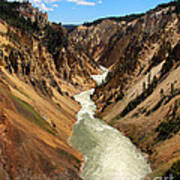 Grand Canyon Of Yellowstone Art Print