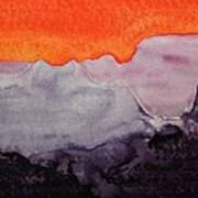 Grand Canyon Original Painting Art Print