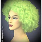Green Velvet Art Print