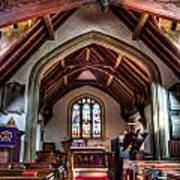 Greensted Church Ongar Art Print